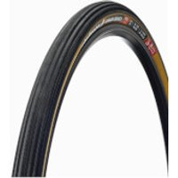 Challenge Strada Bianca 260 TPI Clincher Road Tyre - 700c x 36mm - Black/Tan