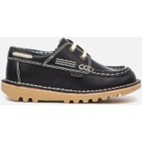 Kickers Kids Kick Boatee Shoes - Navy - UK 7 Infant/EU 24 - Navy