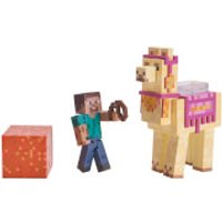 Minecraft Steve with Llama Action Figures - Minecraft Gifts