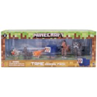 Minecraft Tame Animal Figures Pack - Minecraft Gifts