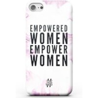 Girl Gains Empowered Women Empower Women Phone Case - iPhone 7 Plus - White - Women Gifts