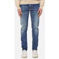 Nudie Jeans Men's Lean Dean Straight Jeans - Lost Legend - W34/L34 - Blue