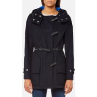 Hunter Women's Original Bonded Wool Duffle Coat - Navy - L - Navy