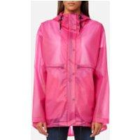 Hunter Women's Original Clear Smock - Bright Cerise - XS - Pink