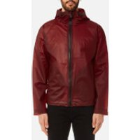 Hunter Mens Original Vinyl Windcheater Jacket - Military Red - XL - Red