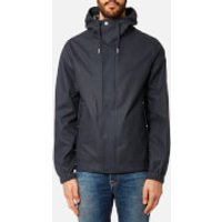 Hunter Mens Original Rubberised Bomber Jacket - Navy - XXL - Navy