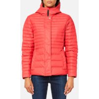 Hunter Womens Original Refined Down Jacket - Bright Coral - M - Coral