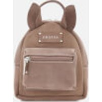 Grafea Womens Mini Zippy Deer Backpack - Brown