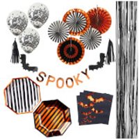 Ginger Ray 'Pumpkin Party' 6 Piece Party Bundle - Pumpkin Gifts