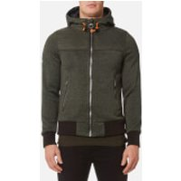 Superdry Mens Storm Mountain Hybrid Zip Hoody - Olive - L - Green