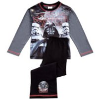 Star Wars Boys' Classic Pyjamas - Grey - 4-5 years - Grey - Pyjamas Gifts
