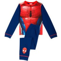 Marvel Boys Spider-Man Novelty Pyjamas - Blue - 2-3 years - Blue