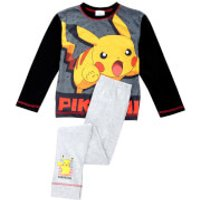 Pokemon Boys' Pikachu Pyjamas - Black - 11-12 Years - Black - Pokemon Gifts