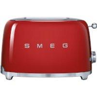 Smeg TSF01RDUK 2 Slice Toaster - Red