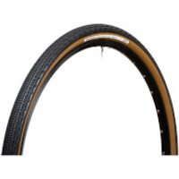 Panaracer Gravel King SK Tubeless Compatible Clincher Tyre - 700c x 38mm - black/brown