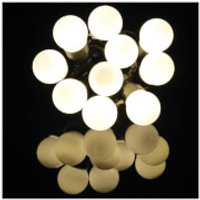 Lyyt 10 Bauble Outdoor Festoon LED Lights - Warm White - Outdoor Gifts