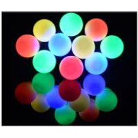 Lyyt 10 Bauble Indoor Festoon LED Lights - Multicolour