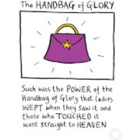 Edward Monkton 'Handbag Of Glory' Limited Edition Art Print - Handbag Gifts