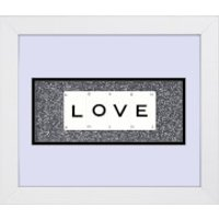 Playing Card Co 'Love' Framed Vintage Style Playing Cards - 30x 25cm - Cards Gifts