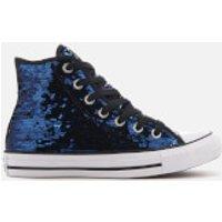 Converse Womens Chuck Taylor All Star Hi-Top Trainers - Midnight Indigo/Black/White - UK 5 - Blue