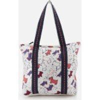 Radley Women's Speckle Dog Large Ziptop Tote Bag - Natural