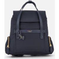 Radley Womens River Street Medium Flapover Backpack - Ink