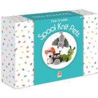 Smart Fox Jr. Easy to Make Spool Knit Pets