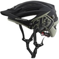 Troy Lee Designs A2 MIPS Decoy MTB Helmet - Black/Stone - S/54-57cm - Black/Stone