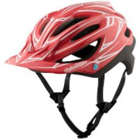 Troy Lee Designs A2 MIPS Pinstripe 2 MTB Helmet - Red - XL-XXL/60-63cm - Red