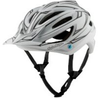 Troy Lee Designs A2 MIPS Pinstripe 2 MTB Helmet - White - S/54-57cm - White