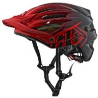 Troy Lee Designs A2 MIPS Starburst MTB Helmet - Red - XL-XXL/60-63cm - Red