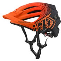 Troy Lee Designs A2 MIPS Starburst MTB Helmet - Orange - XL-XXL/60-63cm - Orange