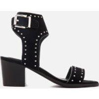 Sol Sana Women's Bev Suede Heeled Sandals - Black Stud - UK 4 - Black