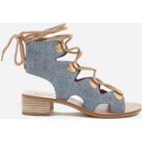 See by Chloe See By Chloé Women's Denim Lace Up Sandals - Denim - UK 6 - Blue