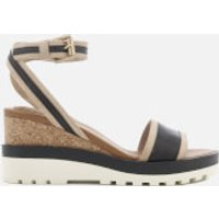 See by Chloe See By Chloé Women's Leather Wedged Sandals - Black - UK 7 - Black