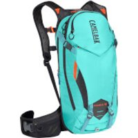 Camelbak KUDU Protector Hydration Backpack 10 Litres - M-L - Dry Burnt Olive/Laser Orange
