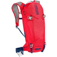 Camelbak TORO Protector Hydration Backpack 8 Litres - Dry Racing Red/Pitch Blue
