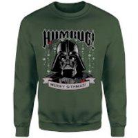 Star Wars Darth Vader Merry Sithmas Green Christmas Sweatshirt - M - Green