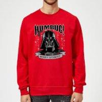 Star Wars Darth Vader Merry Sithmas Red Christmas Sweatshirt - M - Red