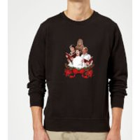 Star Wars Jedi Carols Black Christmas Sweatshirt - S - Black