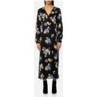 Gestuz Womens Aia Flower Maxi Dress - Multi - EU 38/UK 10 - Multi