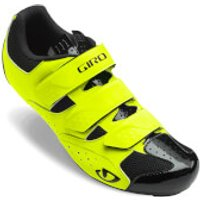 Giro Techne Road Cycling Shoes - Highlight Yellow - EU 44/UK 9.5 - Yellow