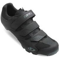 Giro Carbide RII MTB Cycling Shoes - Black/Charcoal - EU 40/UK 6.5 - Black