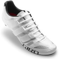 Giro Prolight Techlace Road Cycling Shoes - White - EU 44/UK 9.5 - White