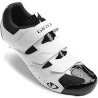 Giro Techne Road Cycling Shoes - White/Black - EU 42/UK 8 - White