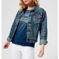 Polo Ralph Lauren Women's Denim Trucker Jacket - Eve Wash - XS - Blue