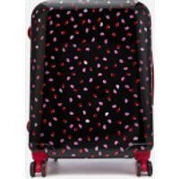 Lulu Guinness Womens Medium Confetti Lip Print Hardside Suitcase - Multi