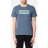 Levi's Men's Housemark Graphic T-Shirt - Ssnl Color Hm Dress Blues Tri Blend - XL - Blue