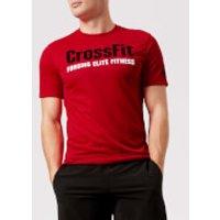 Reebok Men's CrossFit Primal Red Short Sleeve T-Shirt - Red - XXL - Red