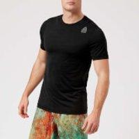 Reebok Mens Cross Fit Activchill Vent Short Sleeve T-Shirt - Black - XXL - Black